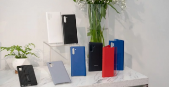 These are all the first-party Galaxy Note 10 and Note 10+ cases