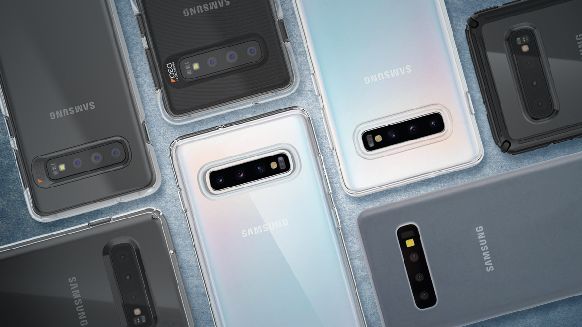 Clear Cases for Galaxy S10