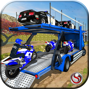 OffRoad Police Transport Truck Driving Games For PC (Windows & MAC)
