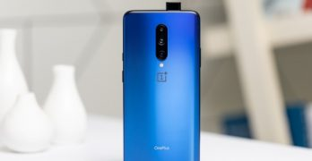 OnePlus 7T Pro: Officially Released Image Reveals Blue Color, Matte Rear and Retractable Front Camera