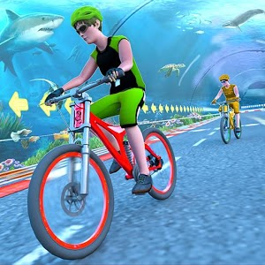 Underwater Stunt Bicycle Race Adventure For PC (Windows & MAC)