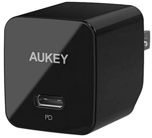 Aukey 18W Power Delivery USB-C Charger