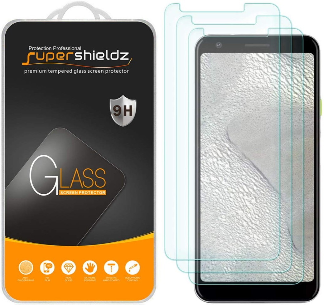 Supershieldz Tempered Glass (3-Pack)