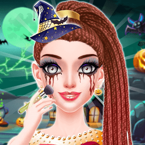Halloween Makeup Salon Games For Girls For PC (Windows & MAC)
