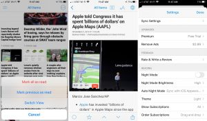 Newsify-RSS-reader-iPhone