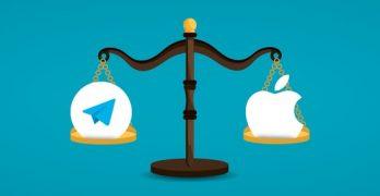 Apple dia miatrika ny fitoriana amerikana mitaky ny fanesorana ny Telegram amin'ny App Store