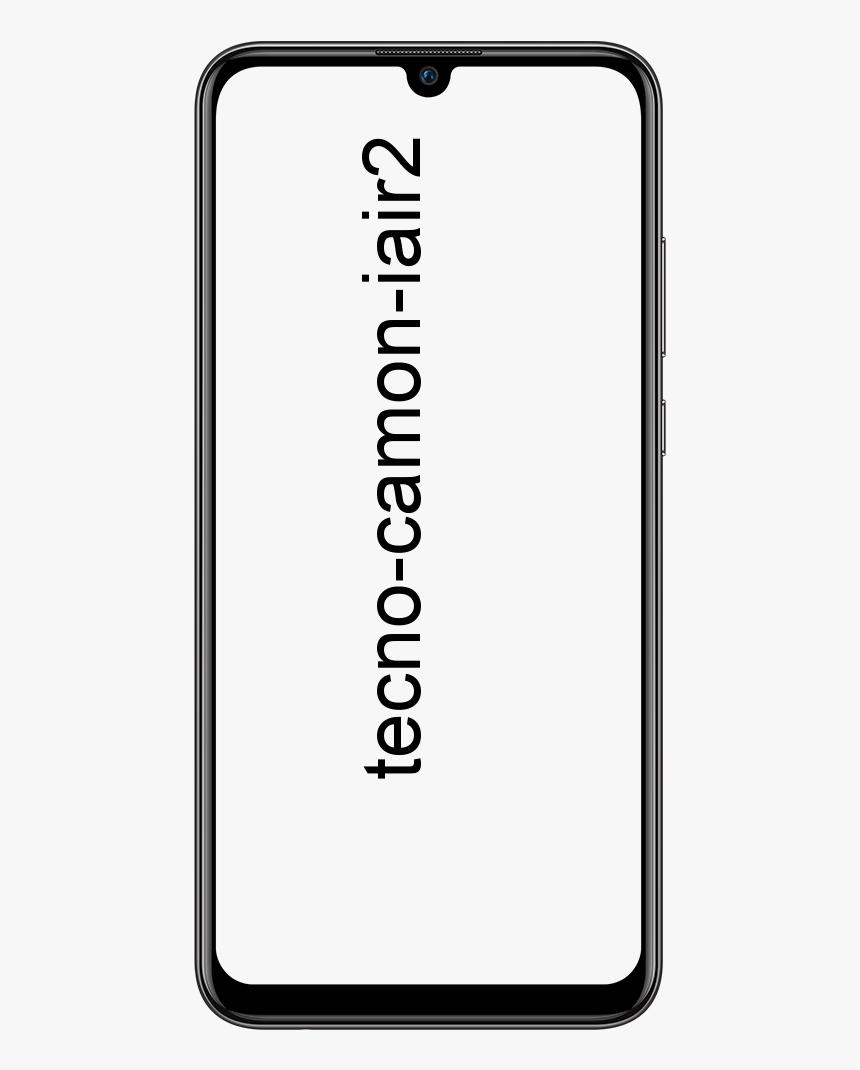 Tecno Camon iAir2+