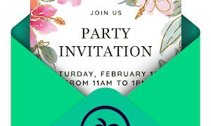 Invitation maker &amp Card design by Greetings Island