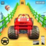 Impossible Mega Ramp Monster Truck Stunt Game